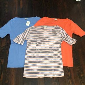 3 for 1 J Crew Perfect Tees
